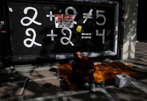 From the agencies : Yannis Behrakis on homelessness in Greece