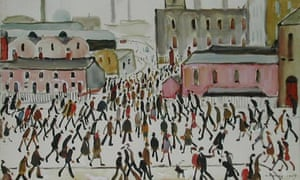 LS Lowry's Going to Work 1959