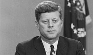 President Kennedy Addressing the Nation by Radio