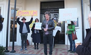 St Kilda art protest