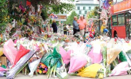 Woolwich murder flowers