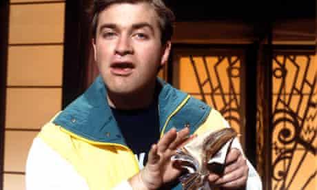 Harry Enfield as Loadsamoney in the 1980s.