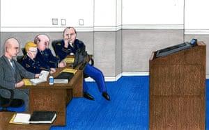Bradley Manning: David Coombs, Bradley Manning, Major Thomas Hurley, Captain Joshua Tooman