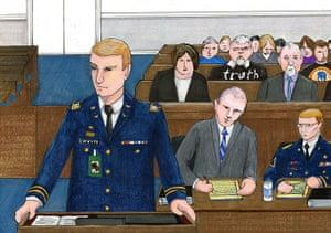Bradley Manning: Captain Hunter Whyte, David Coombs, Bradley Manning