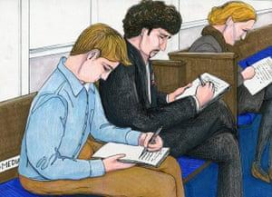 Bradley Manning: Media - Kevin Gosztola, Adam Klasfeld, Alexa O'Brien