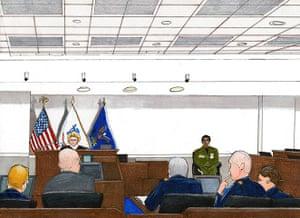 Bradley Manning: Courtroom