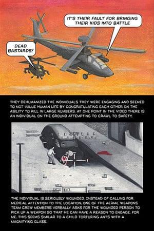 Bradley Manning: Graphic novel