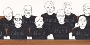 Bradley Manning: Observers in the courtroom