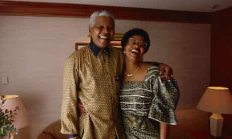Nelson Mandela and Graca Machel