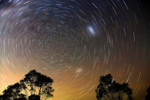 Visions of the universe: Star Trails, Blue Mountains taken with a Canon 40D DSLR