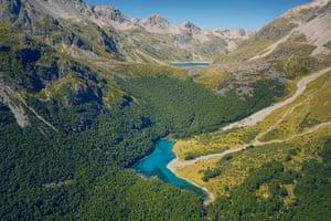 Blue Lake: on New Zealand's South Island