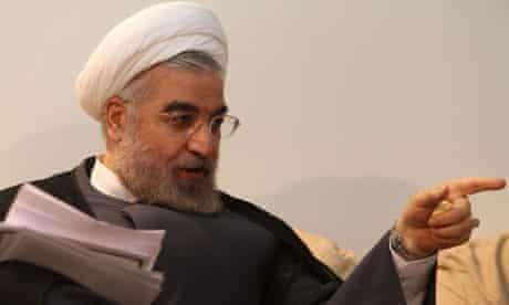 Hassan Rouhani in Tehran
