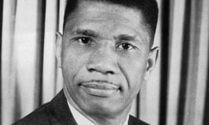 Medgar Evers, Mississippi field secretary for NAACP, in 1963