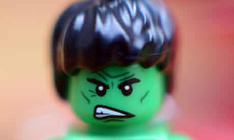 Lego faces are becoming more angry, a New Zealand researcher has found