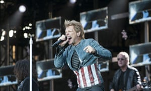 Bon Jovi perform at Villa Park, Birmingham