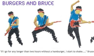 Burgers and Bruce blog