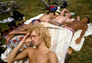Big Picture - Doug Ischar: men sunbathing