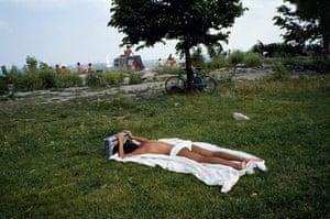 Big Picture - Doug Ischar: man sunbathing