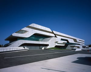 RIBA awards 2013: Pierresvives, Montpellier, France by Zaha Hadid Architects