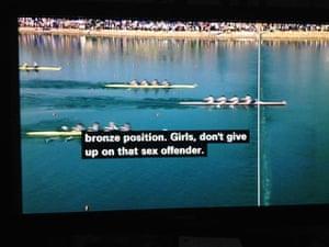 Bad subtitles: Bad subtitles: bbc olympic swimming