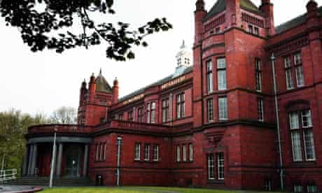 The Whitworth art gallery in Manchester