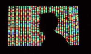 Vision of the future: a digital representation of the human genome.