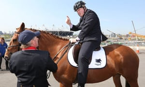 Image result for boris horseback johnson