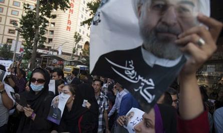 Rouhani rally
