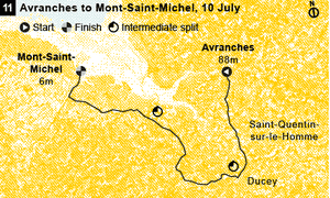 Stage 11 map