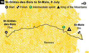 Stage 10 map