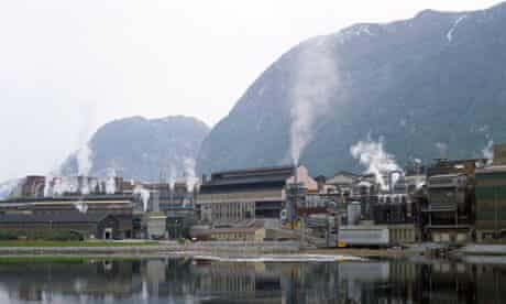A power plant  near Bergen