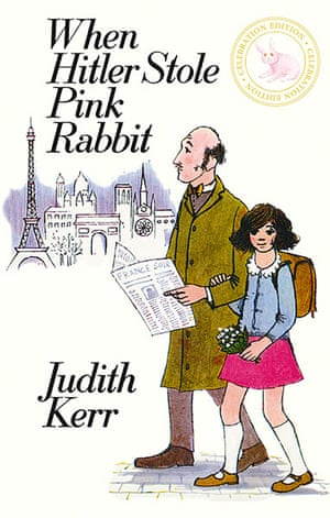 Judith Kerr: Hitler Stole Pink Rabbit Cover