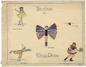Judith Kerr: Skating in fancy dress