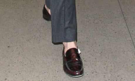 Ryan Gosling's foot