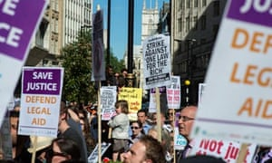 Ministry of Justice plans to cut court services trigger strikes