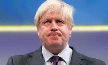 Mayor of London Boris Johnson addresses