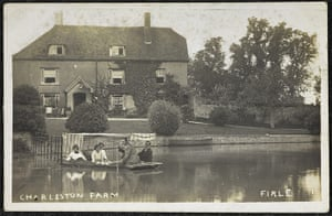 Charlestone : Charlest Farm postcard, owned by Grace HIggens