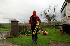 Yarnbombers: Purl 4, 32, originally from Athlone, Ireland.