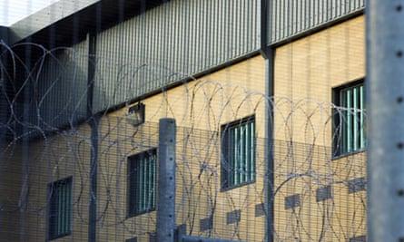 Harmondsworth detention centre in London