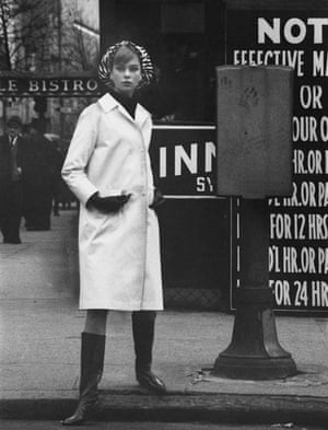 David Bailey, American Vogue, April 1962.