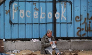 Websites such as Facebook were said to have been vital during the Arab spring, but a survey suggests