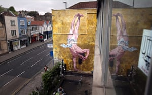 20 Photos: Controversial Mural Of Breakdancing Jesus Is Unveiled