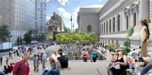 The Met's new Koch Plaza frontage