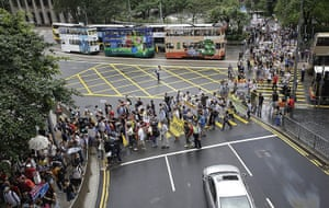 Hong Kong Rally: Edward Snowden Supporters Gather In Hong Kong