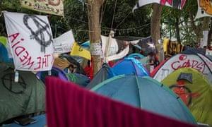 Gezi Park tents