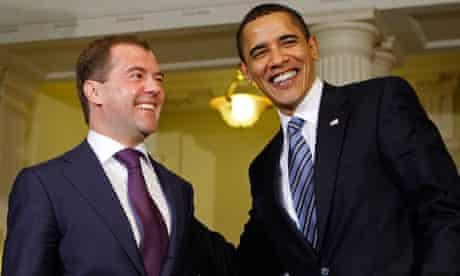 Barack Obama, Dmitry Medvedev