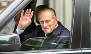 The Duke of Edinburgh leaves the London Clinic in central London today following exploratory abdominal surgery.