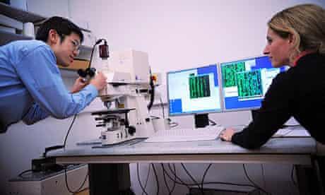 Microscopy at the Cavendish Lab in Cambridge