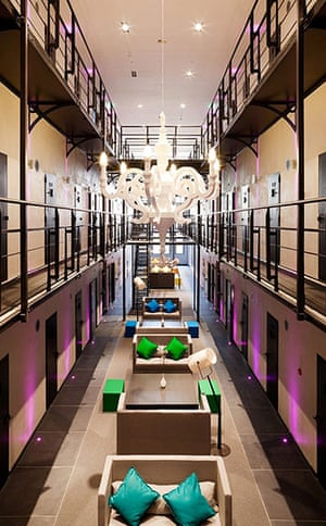 Prisons converted into hotels in pictures society for Hotel that was a jail in boston
