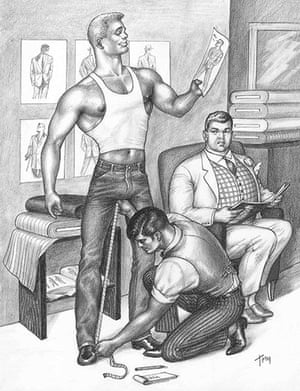 Tom of Finland and friends: battle of the beefcakes – in pictures   Art and  design   The Guardian